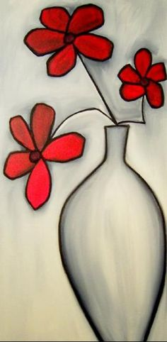 Subtle Elegance - Floral 33 - by Thomas C. Fedro from Floral Butterfly Art, Flower Art, Rock Painting Designs, Diy Canvas Art, Art Drawings Sketches, Whimsical Art, Diy Painting, Watercolor Paintings, Flowers