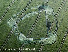 Crop Circles and More (Graancirkels en Meer) - geometrie