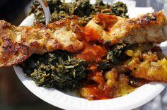 Jama Jama, Friend Plantains and Chicken: New Orleans Jazz Fest food