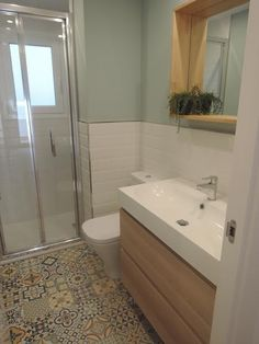Bathroom (SO: Heritage mix tiles from waterhouse tiles longmile rd) Property Brothers, Bathroom Layout, Corner Bathtub, Future House, House Plans, Sweet Home, Design, Home Decor, Powder Room