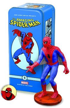 Dark Horse Deluxe Classic Marvel Characters 1 SpiderMan Statue >>> You can get more details by clicking on the image.