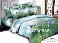 Nuovo bellissimo 4pc 100% cotone comforter piumino copertina doona set completo/regina/re 4 pezzi fiori di biancheria da letto romantico melodia