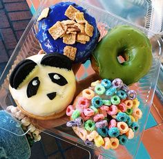 I want the fruit loop one! ♡
