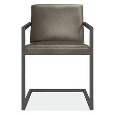 Lira Chair In Leather Modern Dining Room
