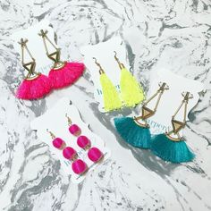 Earrings perfect for any day of the week!