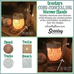 Elevate your #Scentsy experience with a warmer #accessory designed for added #convenience or beauty!
