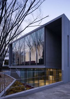 The Mizuta Museum of Art is a 7,000sf building on a university campus in Japan designed to show works from a valuable collection of Ukiyo-e (Japanese woodcut...