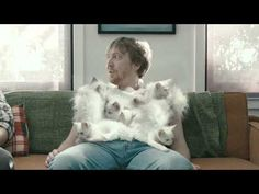 Kittens and Michael Jordan combined into one commercial. This is definitely something weird but something you will surely remember when you see it.