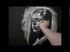 White on Black demos from live model by Zimou Tan - YouTube