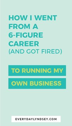 Have you ever dreamed of quitting your day job and running your own thriving + profitable business? The process to start a blog can be overwhelming with so many different resources. I didn't plan to start a blog I sort of just fell into it after getting fired. Start a business, entrepreneur, how to start a business, how to start a blog, #startabusiness, #startablog, #entrepreneurtips, #businesstips