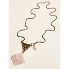 Free People Trapped Crystal Pendant $148