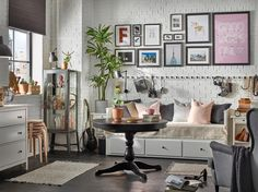 IKEA Quality furniture at affordable prices. Quality Furniture, Bed Furniture, Hemnes Day Bed, Cosy Bed, Table Extensible, Multipurpose Furniture, Ikea Home, Glass Cabinet Doors, Quartos