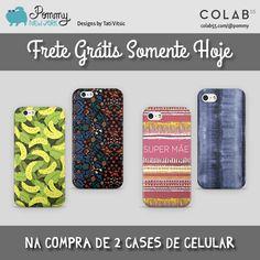 FRETE GRÁTIS somente hoje na compra de 2 cases de celular. Compre agora: https://www.colab55.com/@pommy/cases