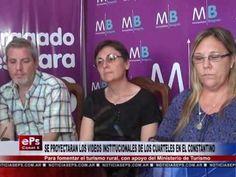 Fogón Rural  : SE PROYECTARAN LOS VIDEOS INSTITUCIONALES DE LOS CUARTELES EN EL CONSTAN...