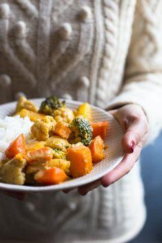 Curry de légumes d'hiver Recette