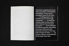 Press Frames Publication on Behance