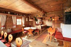 Rustic alpine house