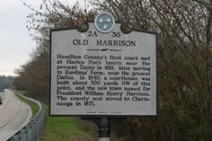 Old Harrison Marker Photo, Click for full size