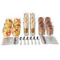 Dalyware™ Libbey® Glass 37-Piece Just Desserts & Tasting Set