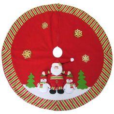 Saia para Árvore de Natal Santini Christmas 811424