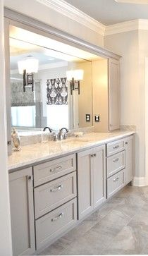 White Master Bathroom Design Ideas, Pictures, Remodel and Decor