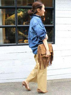 抜け感がかわいい、さらっと着こなすオーバーサイズのシャツコーデ☆スタイル・ファッションの参考に♪