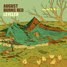 August Burns Red will always be in my top 3 favorite bands of all time!  They're a unique band who never cease to amaze me.  Favorite songs are Empire, Leveller, and Internal Cannon.