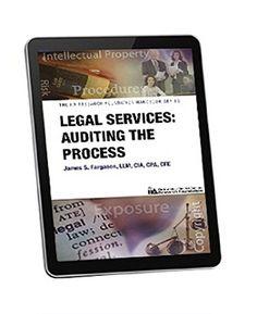 Legal Services: Auditing the Process by James S. Fargason... https://www.amazon.com/dp/B014RSSA9I/ref=cm_sw_r_pi_dp_uOfAxb28CMC04