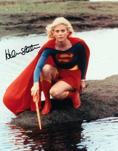 Helen Slater as Supergirl (DC Comics). Supergirl Movie, Supergirl Superman, Superman Comic, Helen Slater Supergirl, Adventures Of Superman, Dc Movies, Female Stars, Fun Comics, American Comics