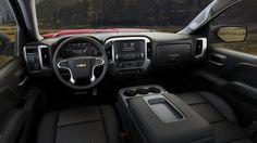 2015 Chevy Silverado Crew Cab LT Z71 Interior