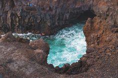 Traveling in Lanzarote - Los Hervideros Canary Islands, Sicily, Traveling, Water, Outdoor, Lanzarote, Viajes, Gripe Water, Outdoors