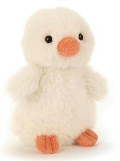 High quality soft toy animal Fluffy Chick in cream by Jellycat. Jellycat, Pet Toys, Teddy Bear, Cream, Garden, Animals, Creme Caramel, Garten, Animales