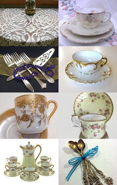 Join Me For Tea by Debbie Ubnoske on Etsy--Pinned with TreasuryPin.com
