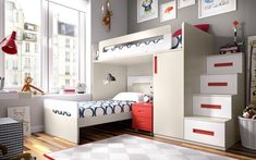 Here are 15 Cool bunk beds design and ideas. Bunk beds ideas and room design which you may like or want for your house. Small space room ideas with bunk beds. Bunk Beds For Girls Room, Adult Bunk Beds, Bunk Beds With Stairs, Kids Bunk Beds, Kids Bedroom, Best Changing Table, Baby Crib Mattress, Modern Bunk Beds, Modern Bedroom