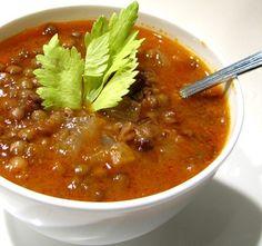 Lentil Stew by Megi Senmenek at Linden Tea [photo used with permission of photographer]