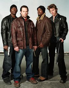 Four Brothers, love this movie. One of my all time favorites. And the first time I fell in love with Mark Wahlberg.