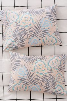 Wild Desert Floral Pillowcase Set