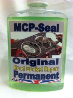ENGINE BLOCK HEAD GASKET REPAIR MCP-Seal RADIATOR SEALER PETROL OR DIESEL