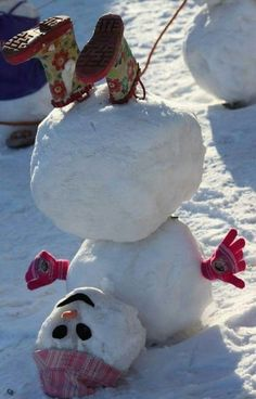 Cutest snowman I have seen