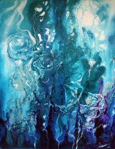 """Blue Roses"" par Marcia Baldwin"