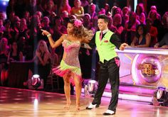Christina Milian & Mark Ballas dance the Cha Cha Cha