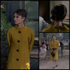 Audrey Hepburn in a Givenchy costume in Charade (1963)