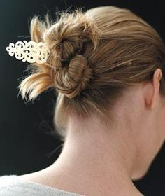 20 Gorgeously Simple Hairstyles - Up, down, blown-out, and curled: a gallery of 20 ways to do your hair.