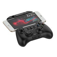 Amazon.co.jp: Satechi® Bluetooth ワイヤレス ユニバーサル ゲームコントローラー ゲームパッド iPhone iPad iOS システム, Samsung Galaxy Note HTC LG Android タブレット PC対応: Electronics & Cameras