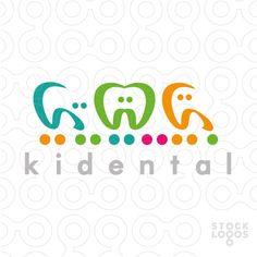 Logo Design Kidental   StockLogos.com