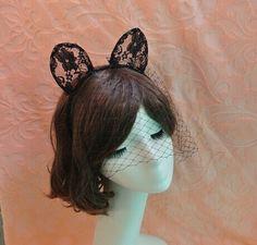 15,-  //  Schwarz Spitzenmaske Lace Maske Karneval von missyouparty auf DaWanda.com