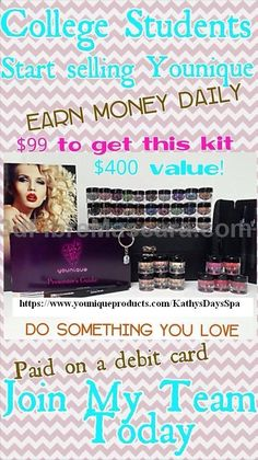 This is the year to Join!!!! Younique just announced that all New Presenters will receive a FREE web-site for life!!! Presenters will never have to be on an auto-ship program, so no minimum purchases required each month !!!! So, for only $99 for the New Presenter Kit! This gives everyone a chance to own a business with low start-up money. Ask me more about becoming a Presenter, I would love to talk!!! To Become a Presenter and learn more: www.youniqueprodu... #3dfibremascara #mascara…
