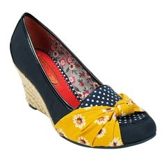 Poetic Licence Bow Tied Espadrille Wedge