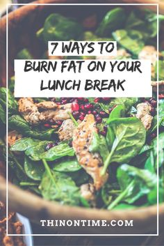 There are many ways to utilize that small window of opportunity to help with your weight loss.  Have a look at 7 simple ways to burn fat AND one of them is NOT going to the gym!  I know people who actually did that.  #busymom #dieting #weightloss #thinontime.