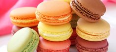 These delicate, chewy macarons are fun to make and taste delicious.